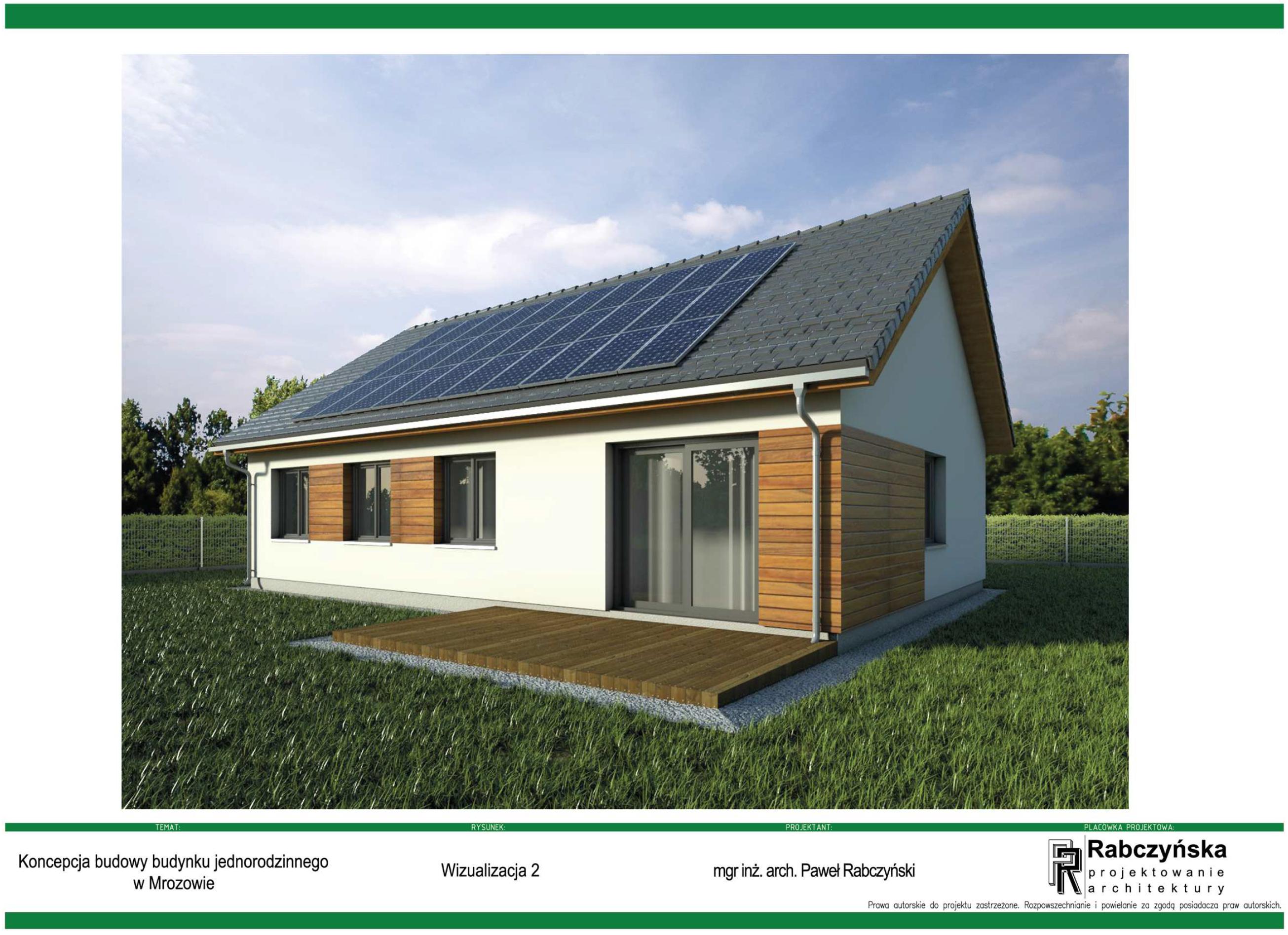 Mrozowie – projekt domu jednorodzinnego